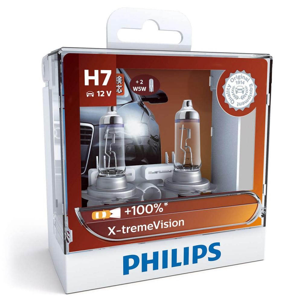 PHILIPS H7 12V 55W X-TREME VISION