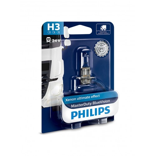 PHILIPS H3 24V 70W BLUE VISION MD
