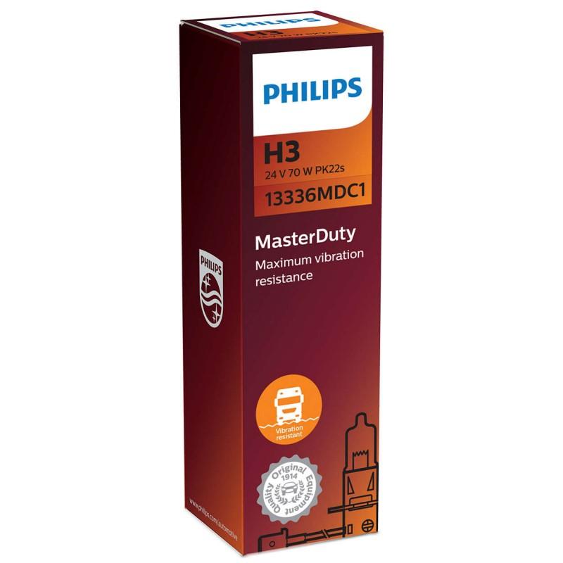 PHILIPS H3 24V 70W MASTER DUTY