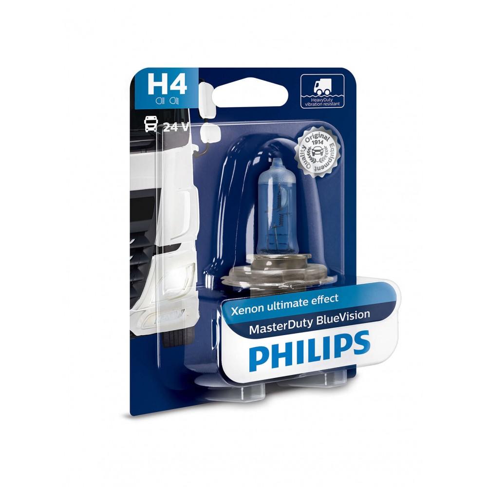 PHILIPS H4 24V 75/70W BLUE VISION MD