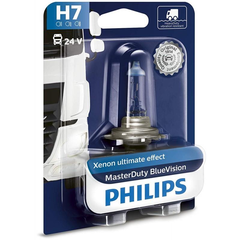 PHILIPS H7 24V 70W BLUE VISION MD