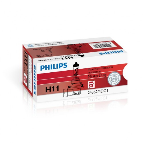 PHILIPS H11 24V 70W MASTER DUTY