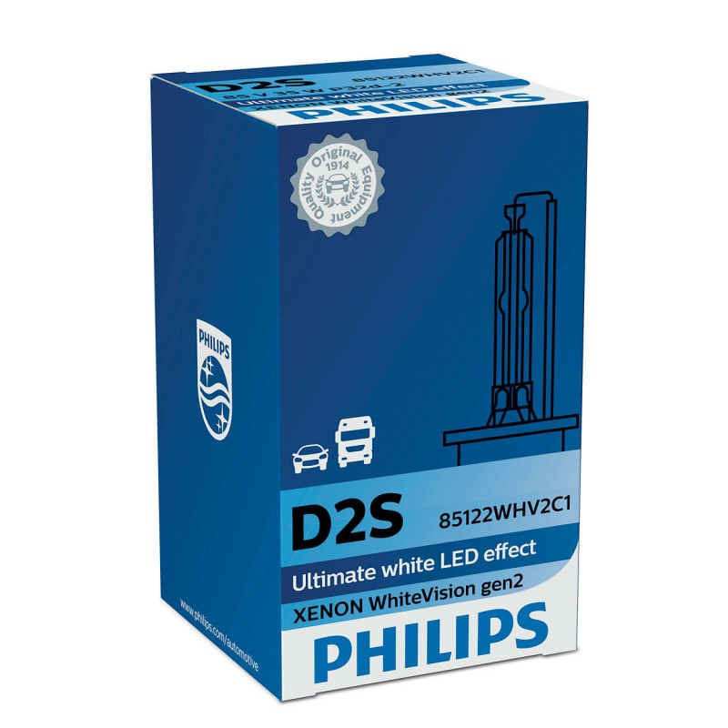 PHILIPS D2S Xenon WHITE VISION GEN2