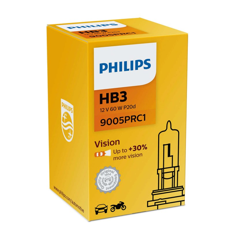 PHILIPS HB3 12V 60W VISION +30%