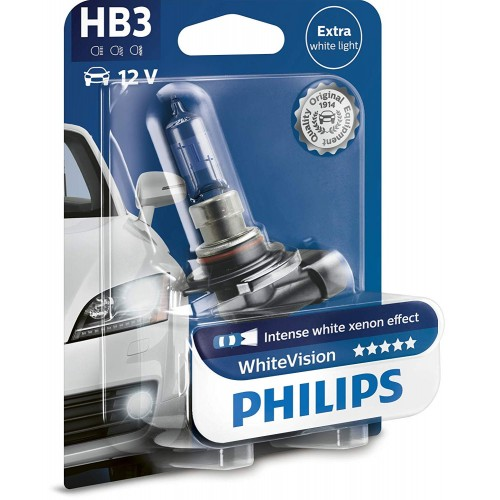 PHILIPS HB3 12V 60W WHITE VISION