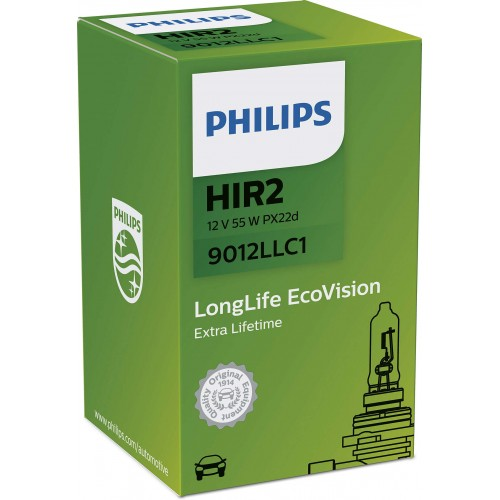 PHILIPS HIR2 12V 55W LONGLIFE ECOVISION