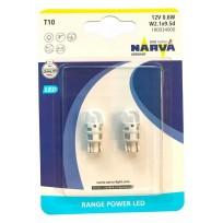 NARVA LED T10 6000K 12V 0.6W