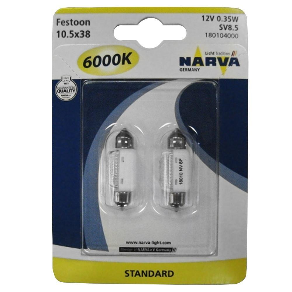 NARVA LED 6000K 12V 0.35W FESTOON