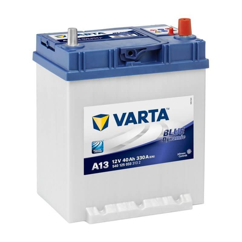 μπαταρια αυτοκινητου Μπαταρία αυτοκινήτου Varta Blue Dynamic A13 Μπαταρίες κλειστού τύπου