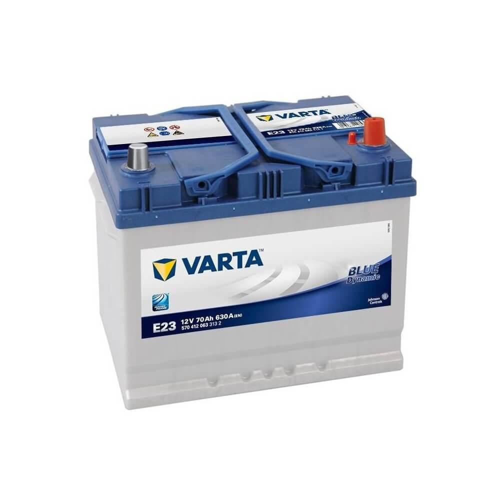 μπαταρια αυτοκινητου Μπαταρία αυτοκινήτου Varta Blue Dynamic E23 Μπαταρίες κλειστού τύπου