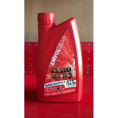ENVOL GEAR OIL 75W-90 GL-5 FULL SYNTHETIC