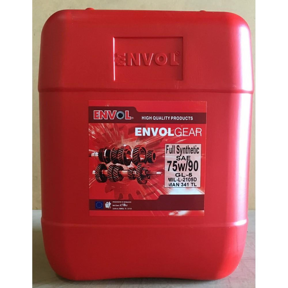 ENVOL GEAR OIL 75W-90 GL-5 FULL SYNTHETIC