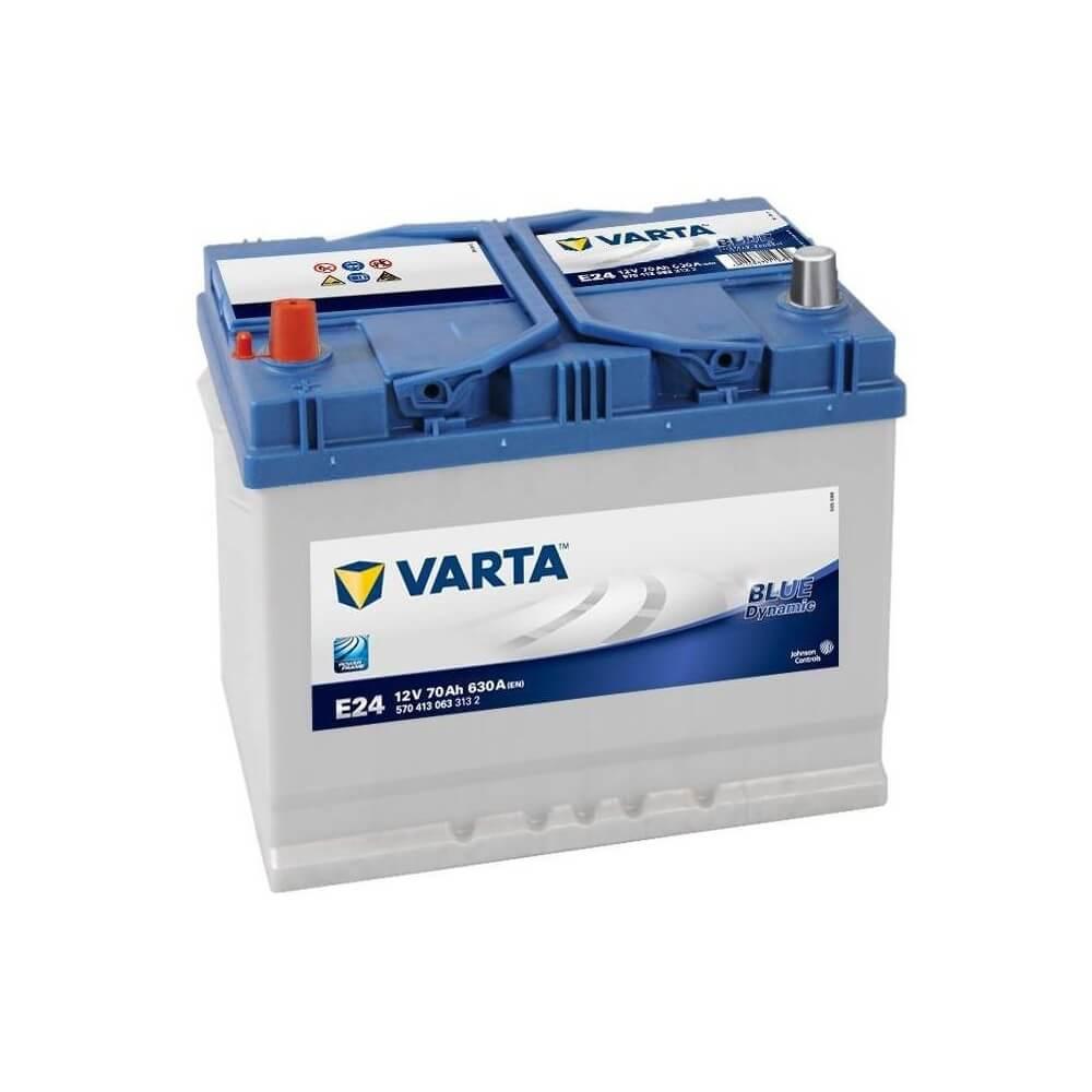 μπαταρια αυτοκινητου Μπαταρία αυτοκινήτου Varta Blue Dynamic E24 Μπαταρίες κλειστού τύπου