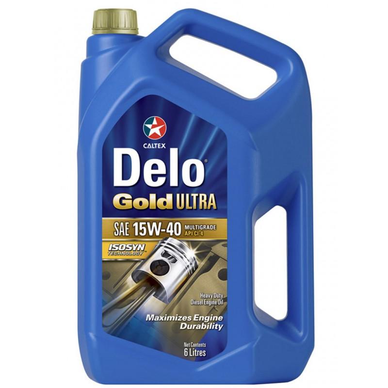 TEXACO Λιπαντικό DELO GOLD ULTRA E 15W-40