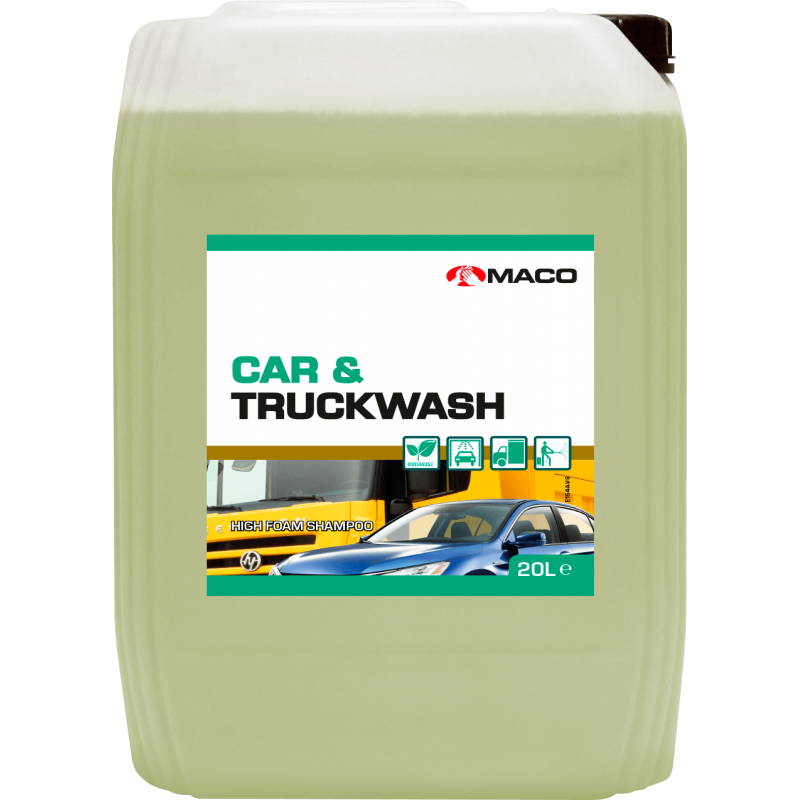 ΣΑΜΠΟΥΑΝ CAR & TRUCKWASH MACO