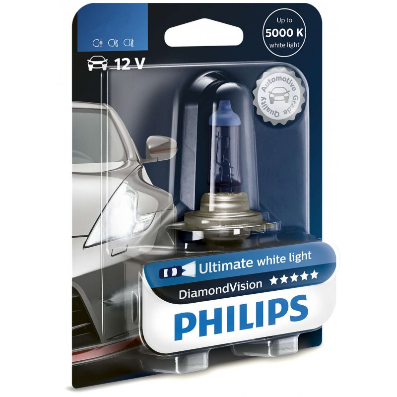 PHILIPS H1 12V 55W DIAMOND VISION