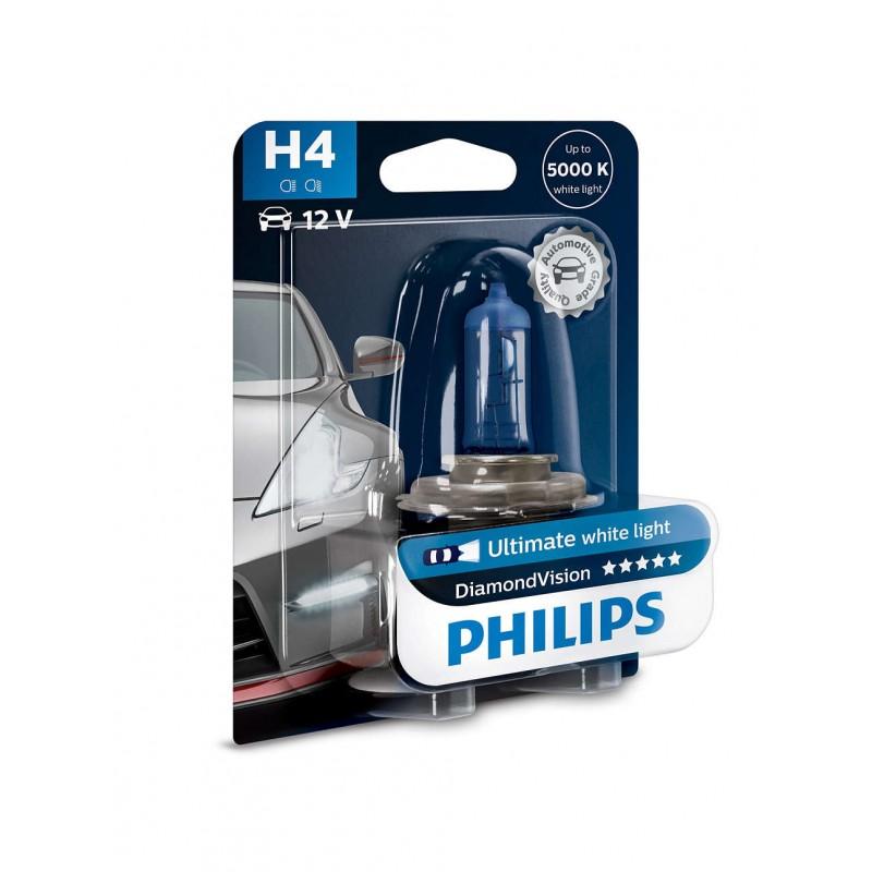 PHILIPS H4 12V 60/55W DIAMOND VISION