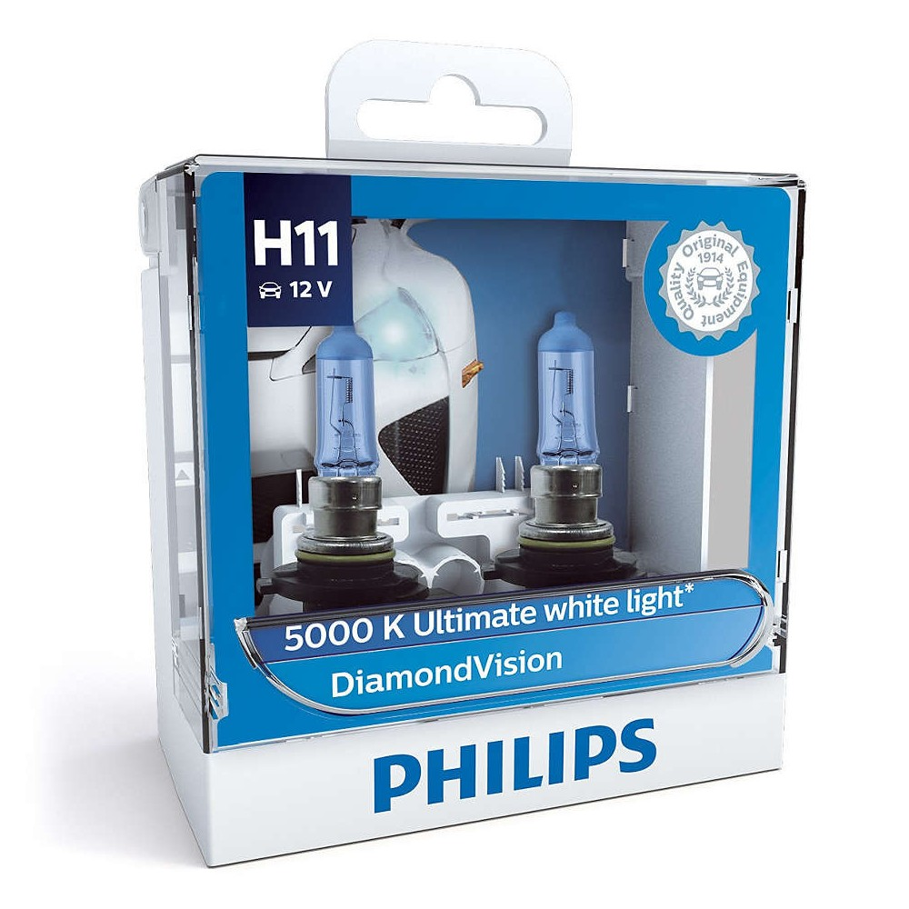 PHILIPS H11 12V 55W DIAMOND VISION