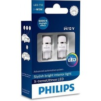 PHILIPS LED T10 6000K 12V 1W