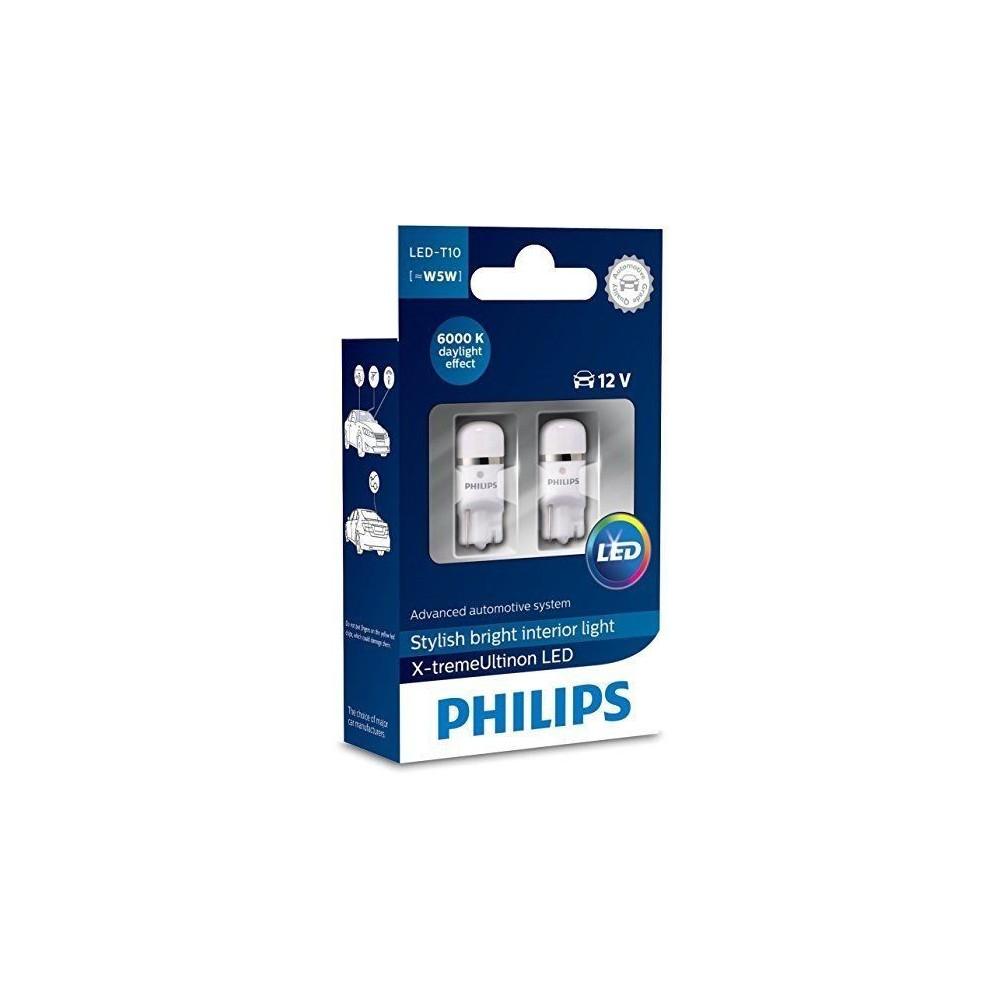 PHILIPS LED T10 6000K 12V 1W