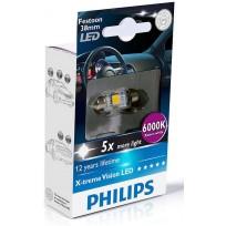PHILIPS LED FEST 38mm 6000K 12V 1W