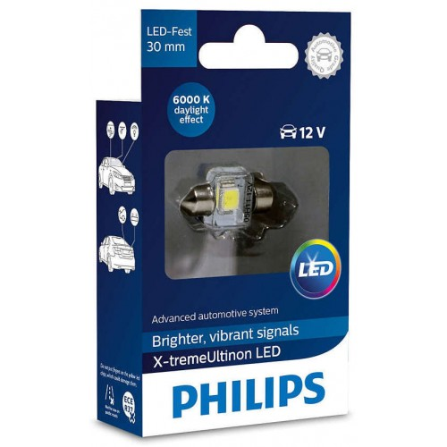 PHILIPS LED FEST 30mm 6000K 12V 1W