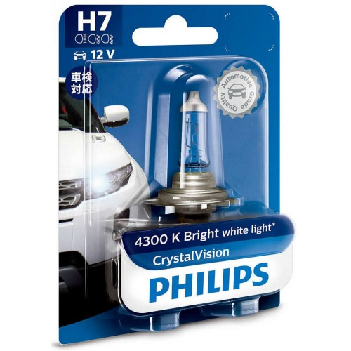 PHILIPS H7 12V 55W CRYSTAL VISION