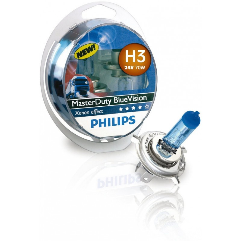 PHILIPS H3 24V 70W BLUE VISION MD