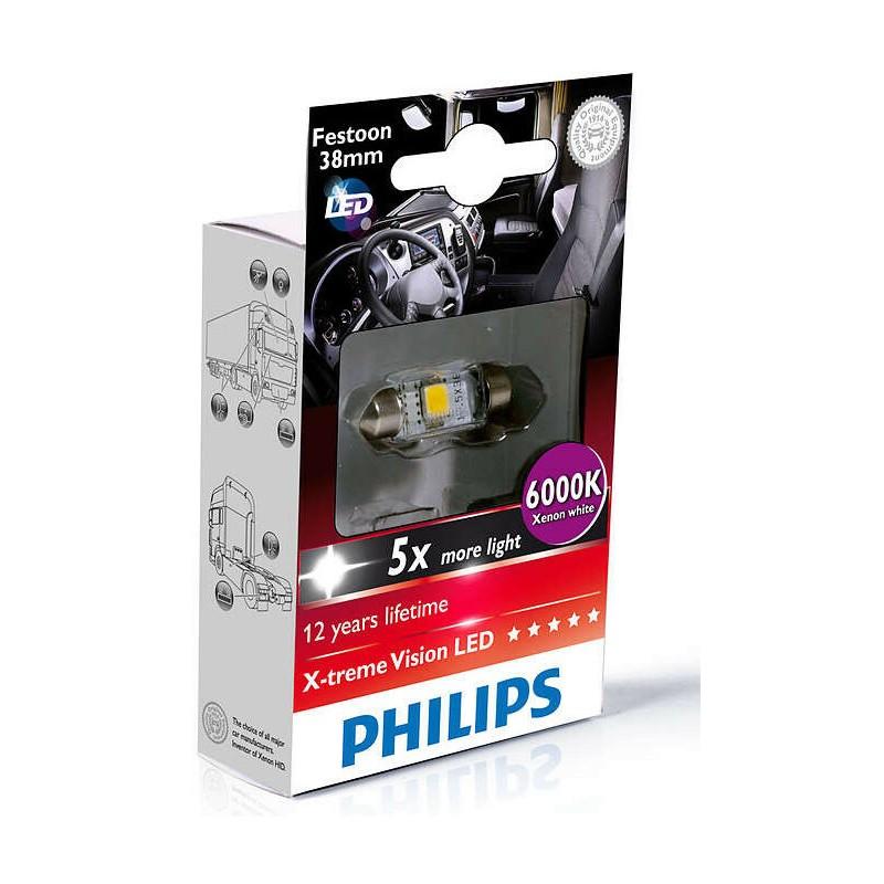 PHILIPS LED FEST 38mm 6000K 24V 1W