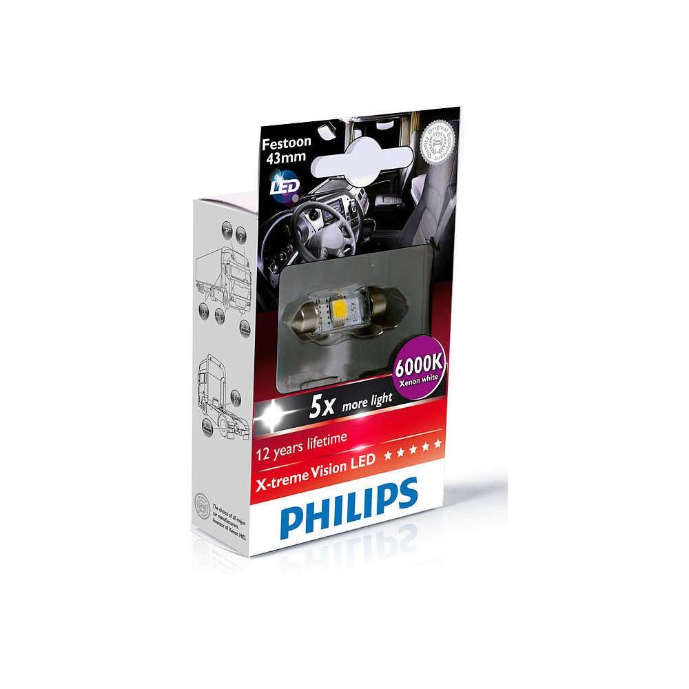PHILIPS LED FEST 43mm 6000K 24V 1W
