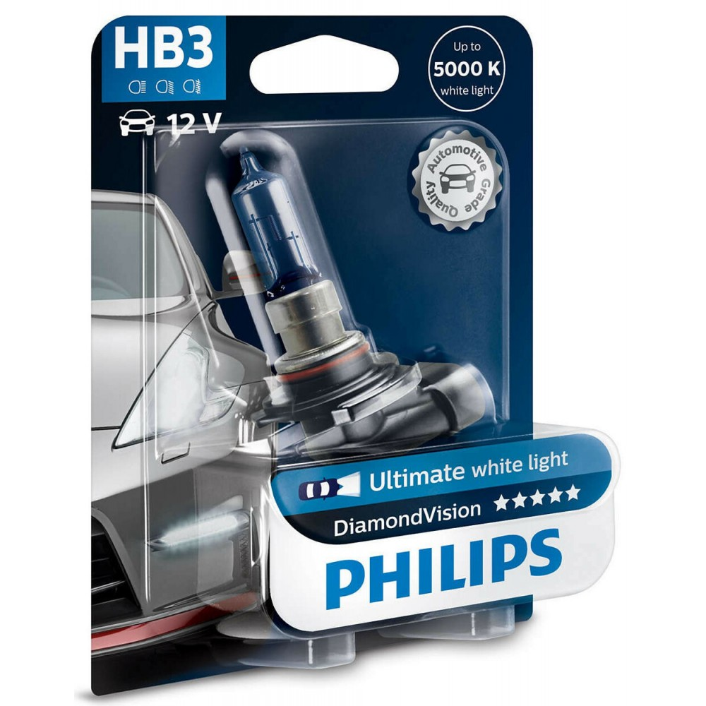 PHILIPS HB3 12V 65W DIAMOND VISION