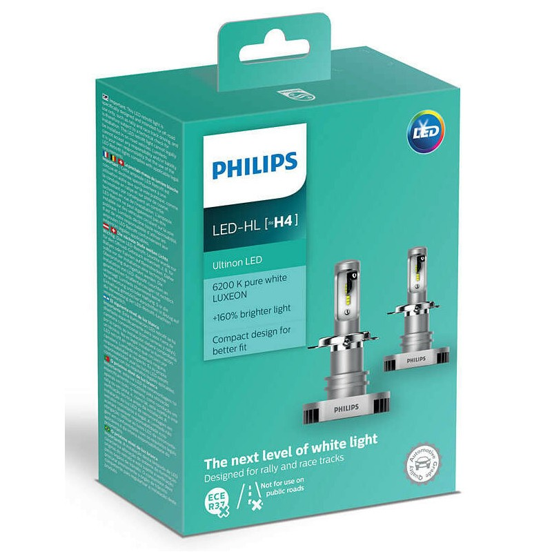 PHILIPS LED HL H4 ULTINON LED