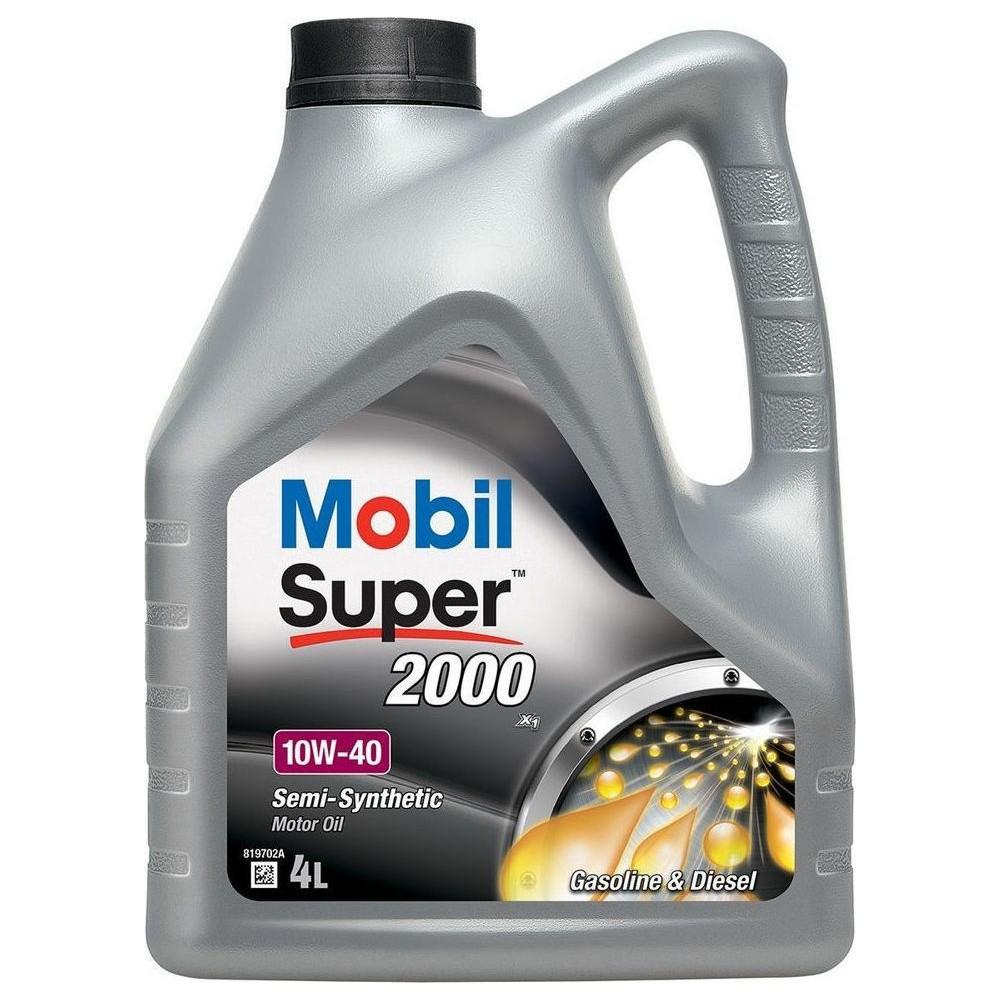 MOBIL Λιπαντικό SUPER 2000 X1 10W-40