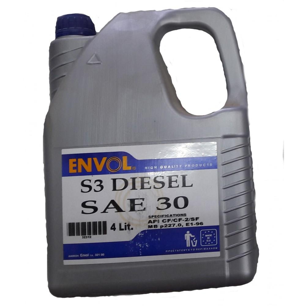 ENVOL MOTOR OIL DIESEL S3 30