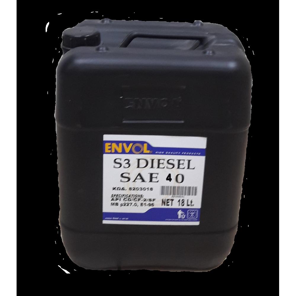 ENVOL MOTOR OIL DIESEL S3 40