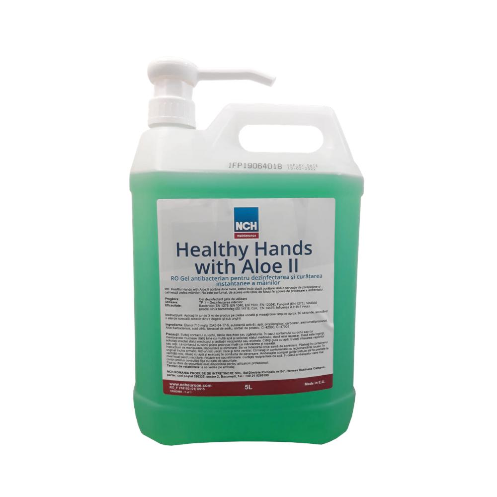 Αντισηπτικό NCH Healthy hands with Aloe 5L