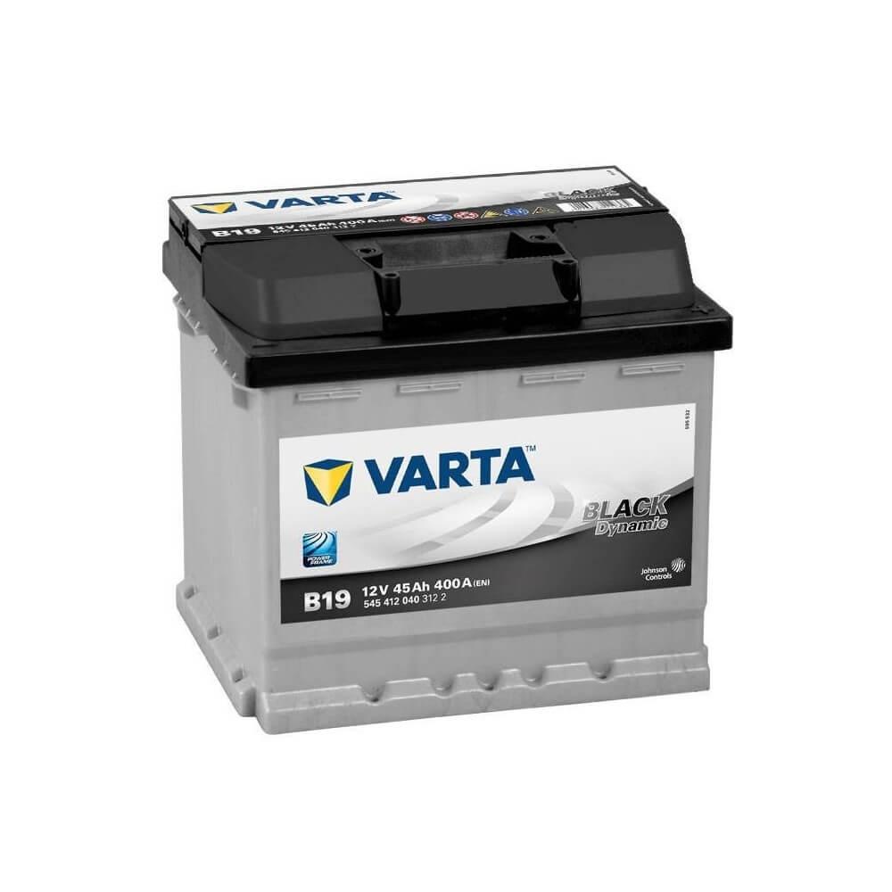 μπαταρια αυτοκινητου Μπαταρία αυτοκινήτου Varta Black Dynamic B19 Μπαταρίες κλειστού τύπου