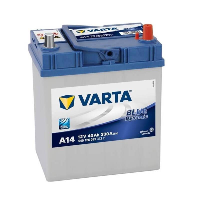 μπαταρια αυτοκινητου Μπαταρία αυτοκινήτου Varta Blue Dynamic A14 Μπαταρίες κλειστού τύπου