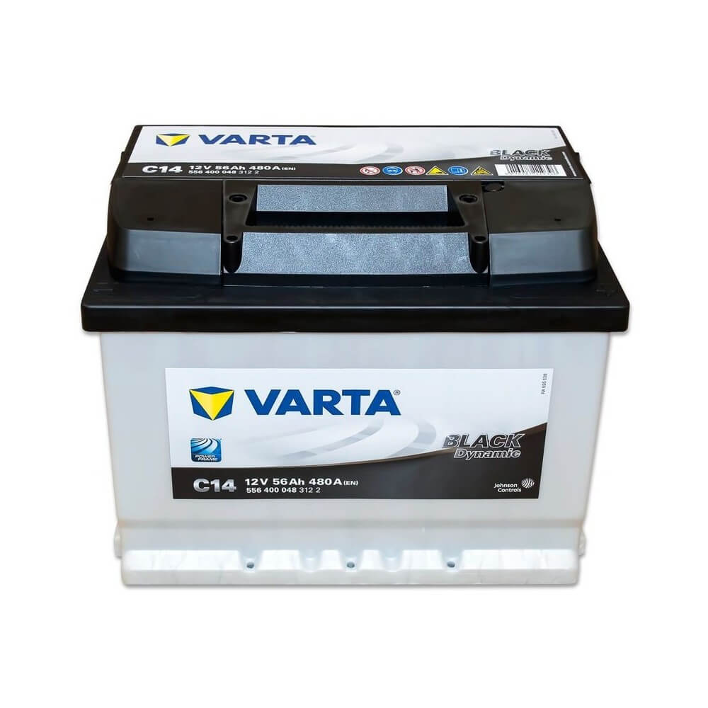 μπαταρια αυτοκινητου Μπαταρία αυτοκινήτου Varta Black Dynamic C14 Μπαταρίες κλειστού τύπου