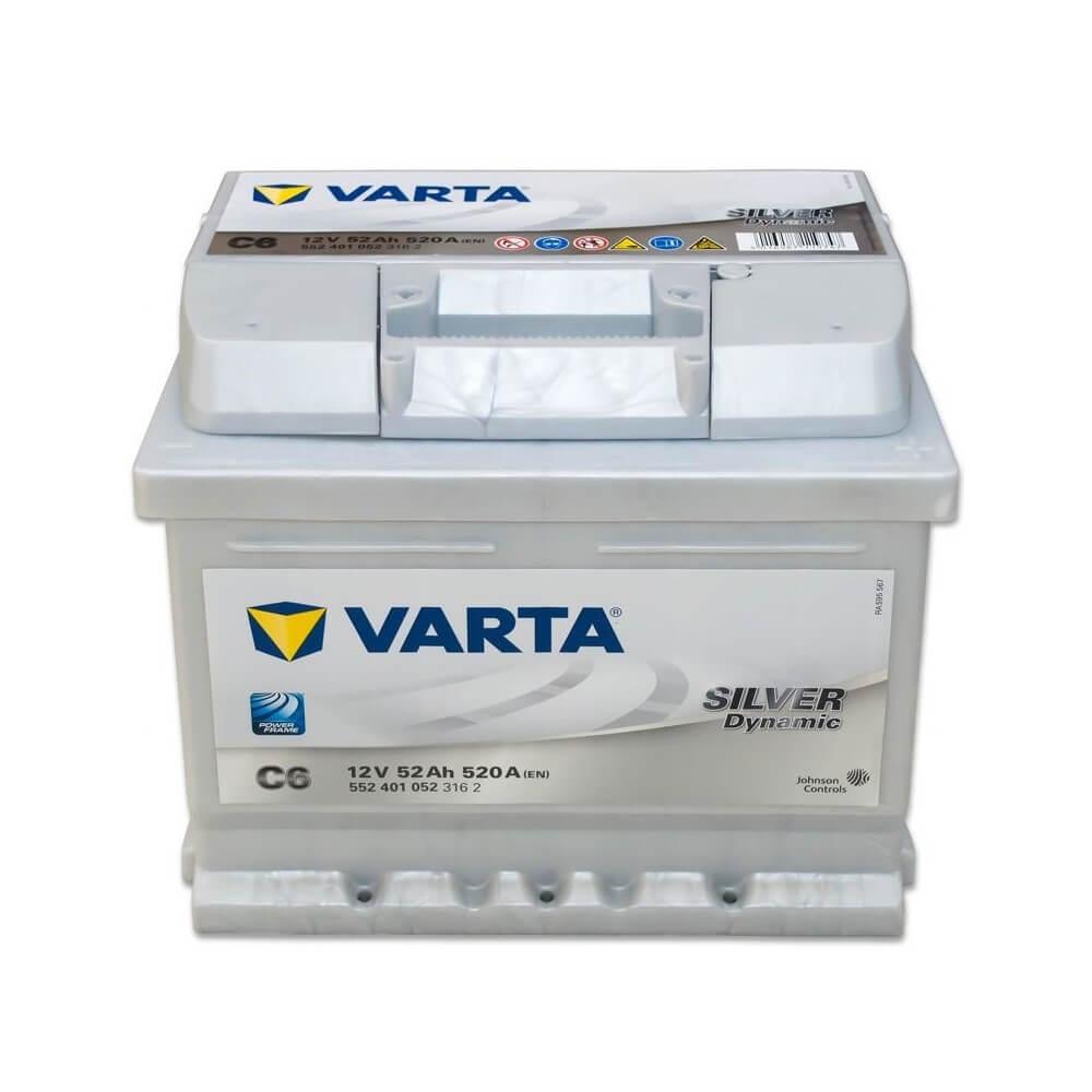 μπαταρια αυτοκινητου Μπαταρία αυτοκινήτου Varta Silver Dynamic C6 Μπαταρίες κλειστού τύπου