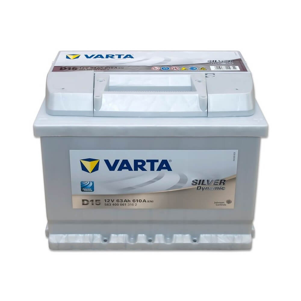 μπαταρια αυτοκινητου Μπαταρία αυτοκινήτου Varta Silver Dynamic D15 Μπαταρίες κλειστού τύπου