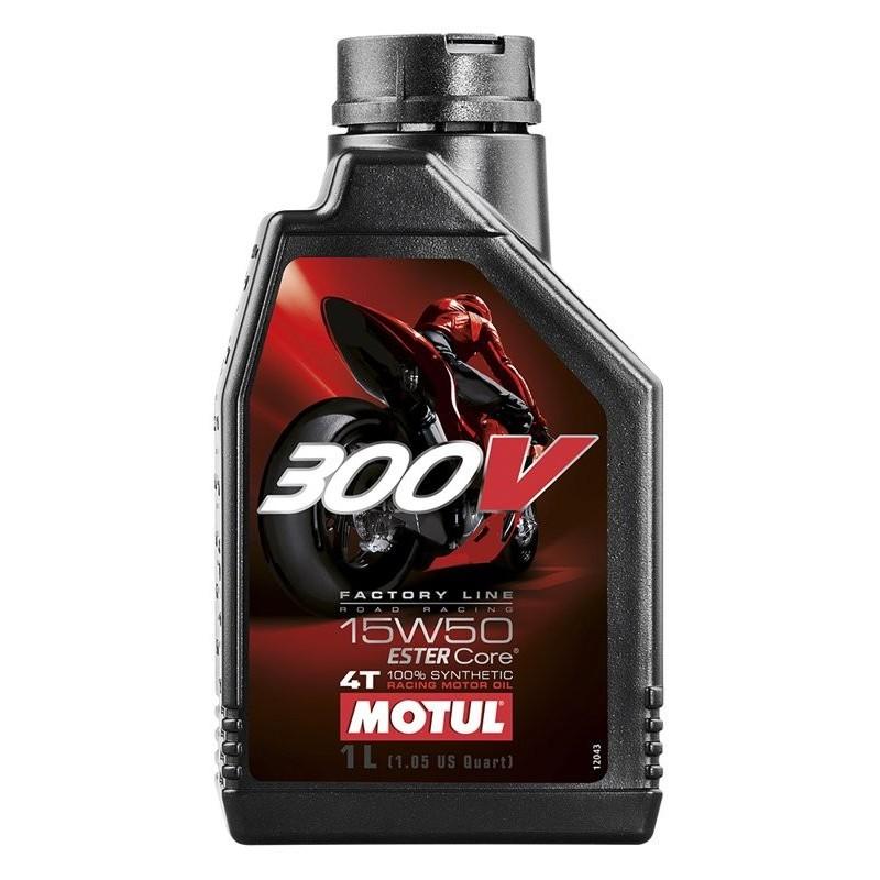 MOTUL 300V 4T FACTORY LINE ROAD RACING 15W-50