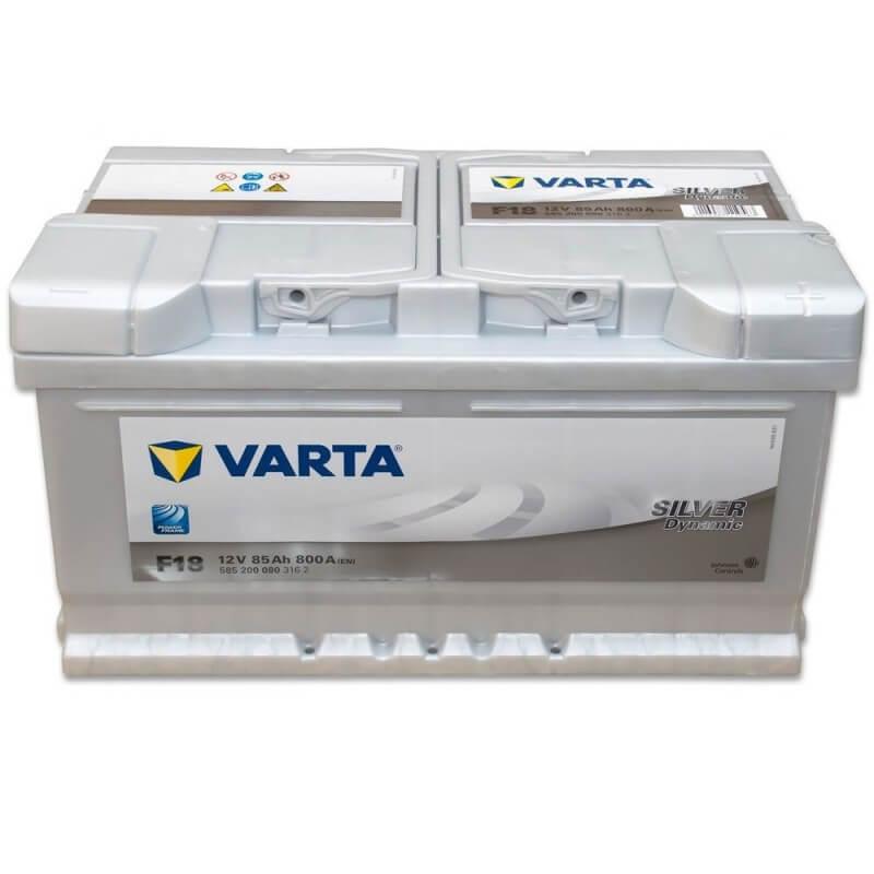 μπαταρια αυτοκινητου Μπαταρία αυτοκινήτου Varta Silver Dynamic F18 Μπαταρίες κλειστού τύπου