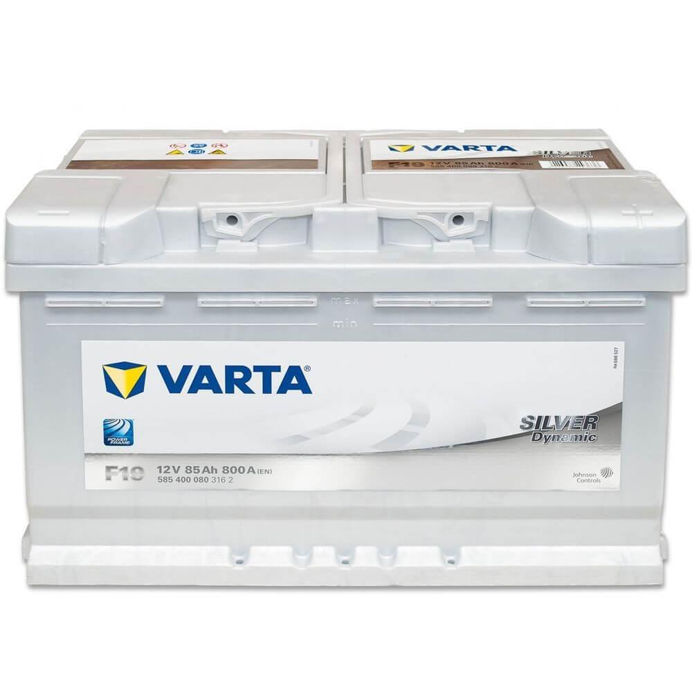 μπαταρια αυτοκινητου Μπαταρία αυτοκινήτου Varta Silver Dynamic F19 Μπαταρίες κλειστού τύπου