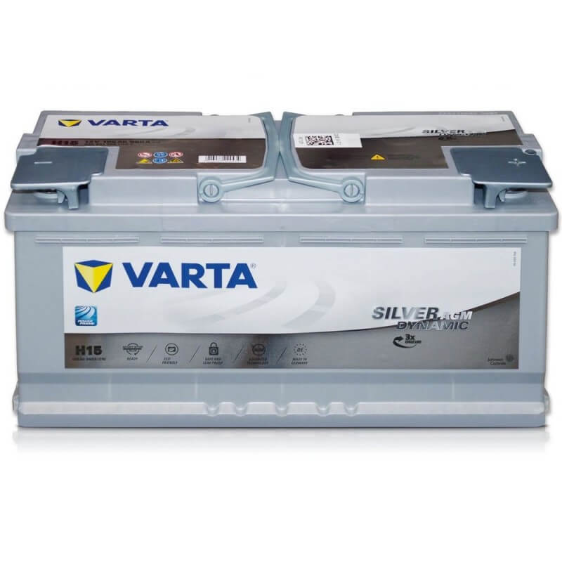 μπαταρια αυτοκινητου Μπαταρία αυτοκινήτου Varta Silver Dynamic AGM H15 Μπαταρίες Start-Stop