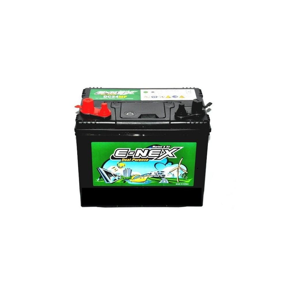μπαταρια αυτοκινητου E-NEX DC24MF Μπαταρίες διπλού σκοπού
