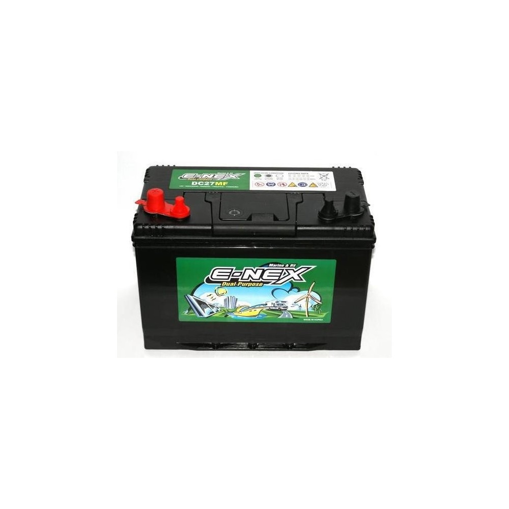 μπαταρια αυτοκινητου E-NEX DC27MF Μπαταρίες διπλού σκοπού