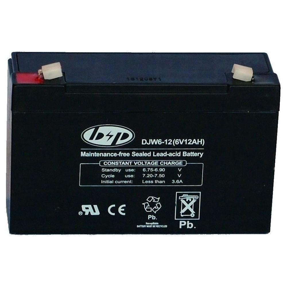 μπαταρια αυτοκινητου DJW6-12 Μπαταρίες για UPS - Αναπηρικά Αμαξίδια - Ηλεκτρ. Παιχνίδια