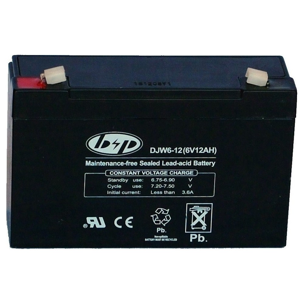μπαταρια αυτοκινητου DJW12-1.2 Μπαταρίες για UPS - Αναπηρικά Αμαξίδια - Ηλεκτρ. Παιχνίδια