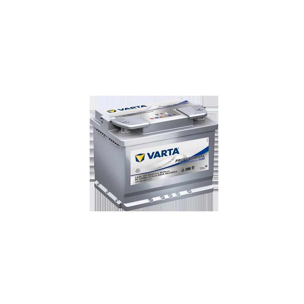 μπαταρια αυτοκινητου Varta Professional Marine LFD/LFS - LA60 Μπαταρίες διπλού σκοπού